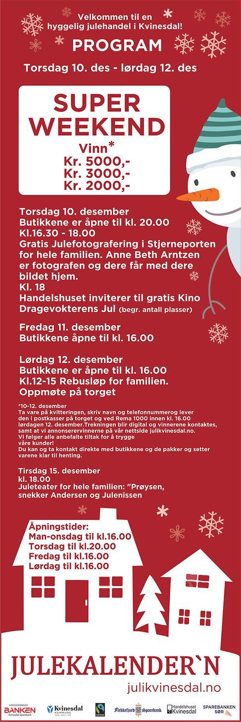 Juleprogram Kvinesdal