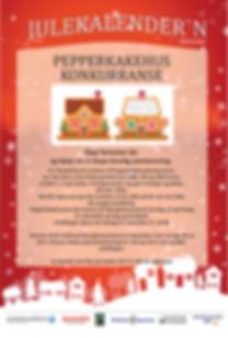 Pepperkakehuskonkurranse Kvinesdal