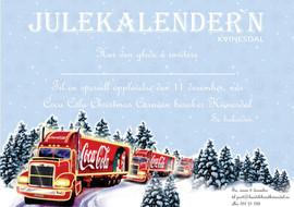 Coca Cola Christmas Caravan i Kvinesdal