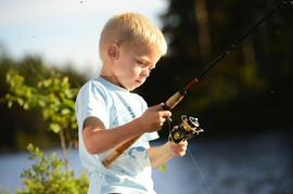 Fiskelykke i Kvinesdal