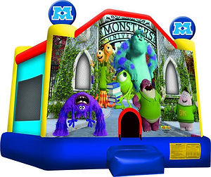 monsters university jumping castle