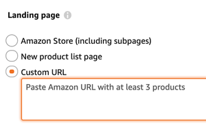 Storefront or Product List page? Which landing page works better for Amazon Sponsored Brand Ads?