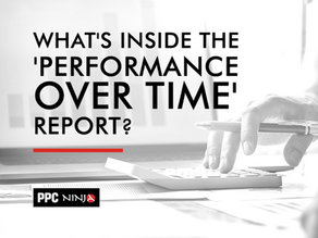 What's inside the 'Performance Over Time' Report?