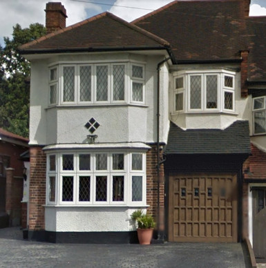 Osidge Lane, London - Before