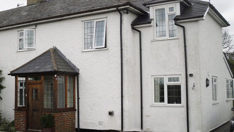 Ermyns Cottages, London - Before