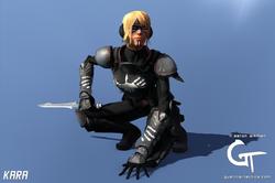 Raven 3D Art