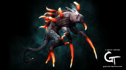 Thras 3D Creature Art
