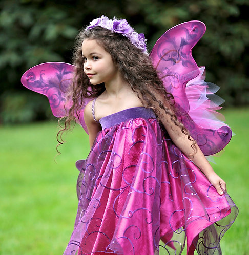 4 pc Wildfllower Faerie Costume