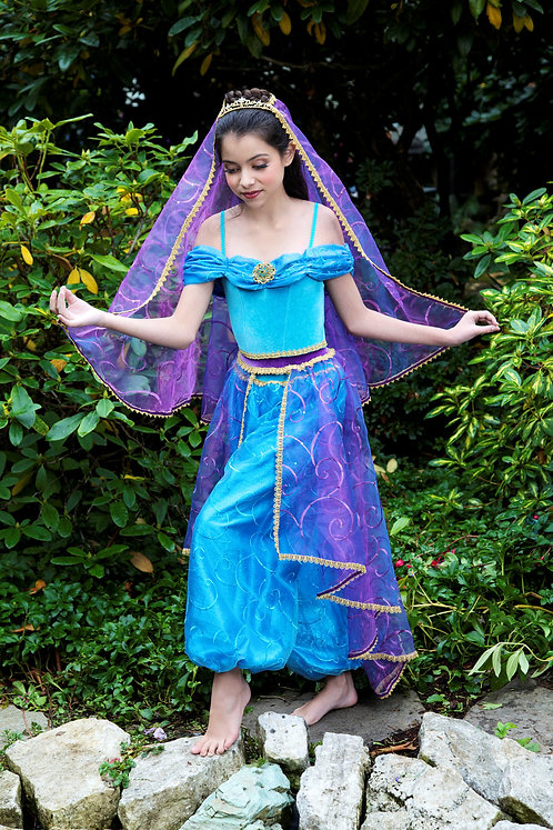 3 pc Jasmine Princess Costume