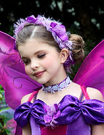 Couture Fairy Wings & Garland Set