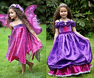Deluxe Victoriana Wildflower Faerie Princess Set