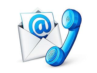 Telefon und Email