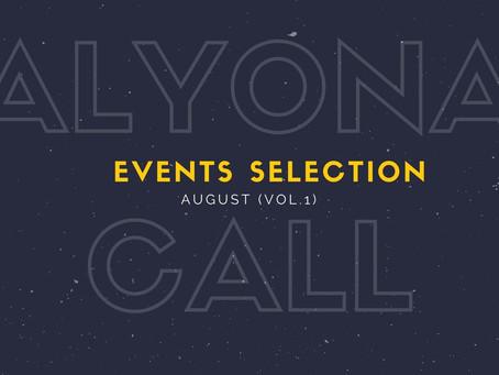 A_call: селекция интересных событий августа