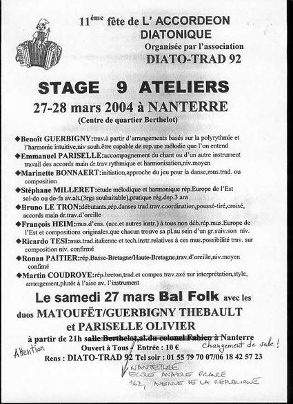 11e fête de l'accordéon (2004)