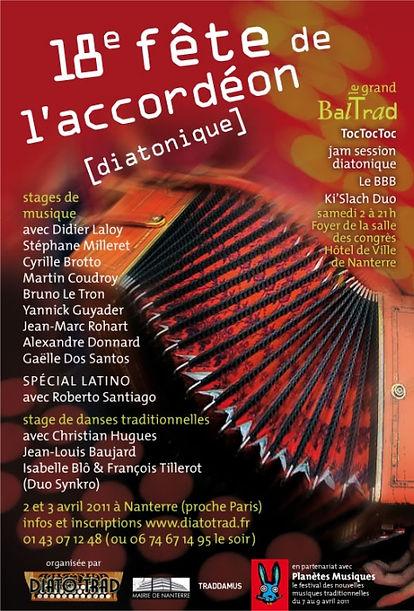 18e fête de l'accordéon (2011)