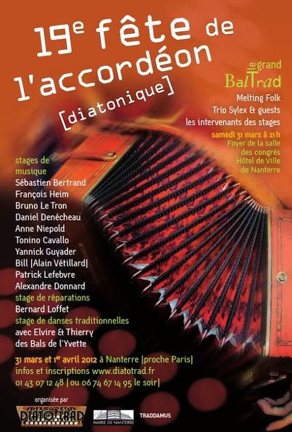19e fête de l'accordéon (2012)