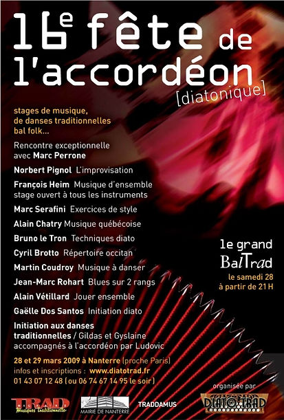 16e fête de l'accordéon (2009)