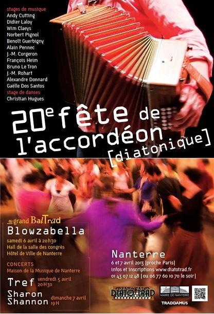 20e fête de l'accordéon (2013)