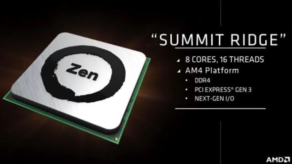 Novos processadores da AMD, Zen, são confirmados pra lançar no início de 2017