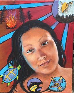 Sheena Face painting.JPG