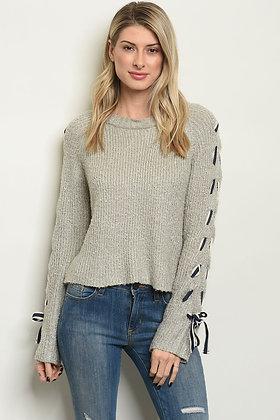 Nit Sleeve Sweater