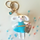 Thumbnail: White rabbit bag charm