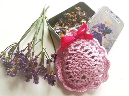 Scented sachets Organic lavender potpourri