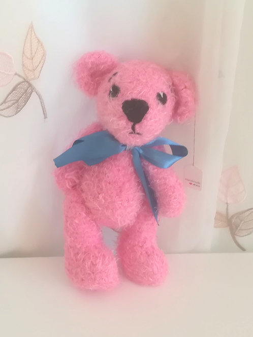 Fluffy Pink Teddy Bear