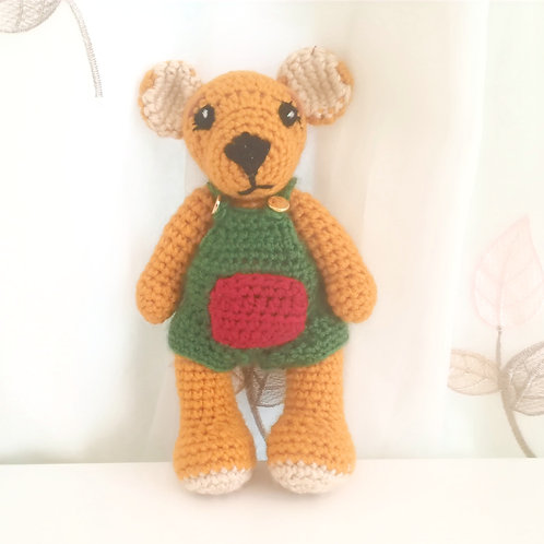Teddy Bear in overalls