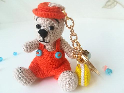 Teddy Bear Bag Charm SOLD