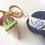 Thumbnail: Girl with ice cream in Pink & Navy  bag charm