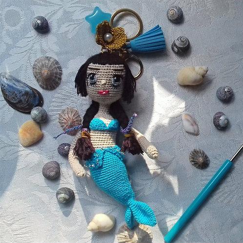 Mermaid Bag Charm