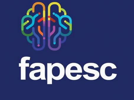 Editais FAPESC - inscrição até 12 de abril
