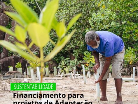 Sustentabilidade/ Financiamento para projetos de Adaptação baseada em Ecossistemas (EbA)