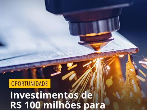 Investimentos de R$ 100 milhões para 15 startups ainda em 2021