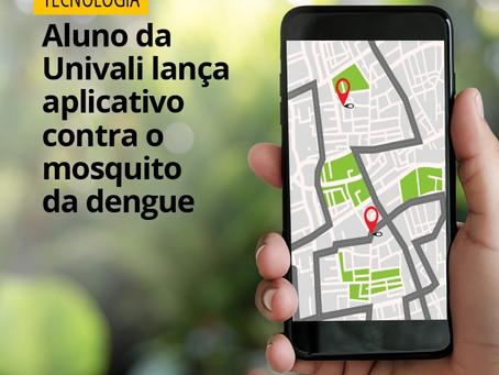 Tecnologia/ Aluno da Univali lança aplicativo contra o mosquito da dengue