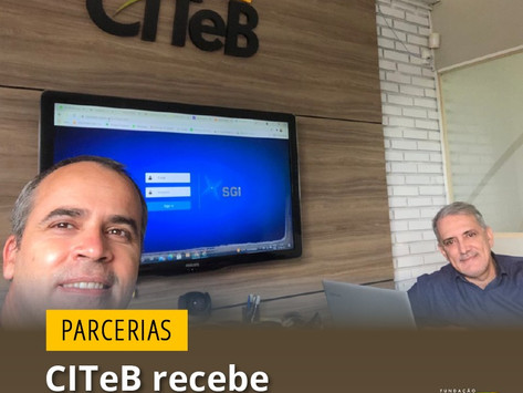 Citeb recebe visita de Prof. do Parque Tecnológico da Paraíba