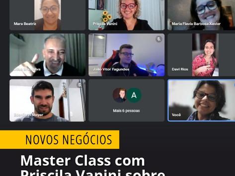 Master Class com Priscila Vanini sobre metologia DISC