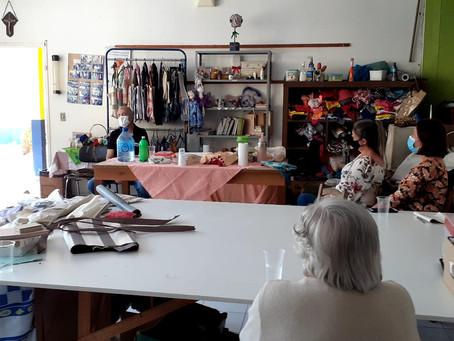 Reunião do CITeB com grupo de artesãs AFAGO e presença EPAGRI