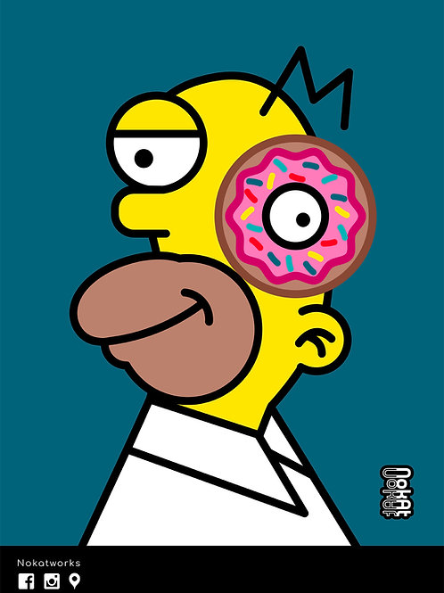 Cubic Homer Simpson