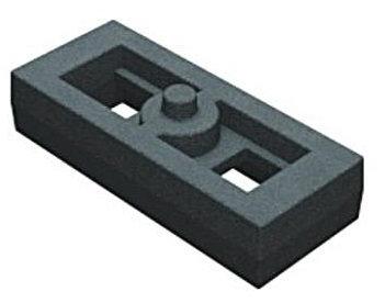 Calço para levantar molejo 40x70x190mm (013.000199)