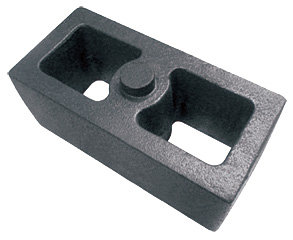 Calço para molejo da carreta 90x80x190mm (013.000148)