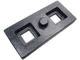Calço para molejo da carreta 20x90x200mm (013.000082)