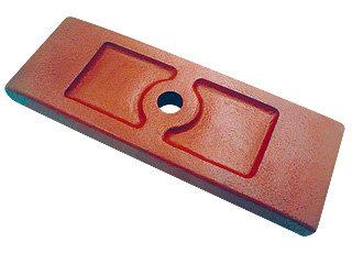 Calço separador do feixe e contra feixe liso (013.000018)