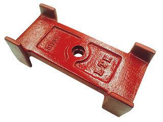 Calço separador do feixe e contra feixe com guias (013.000017)
