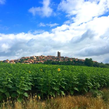 Vue de Montpeyroux