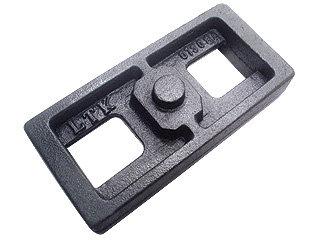Calço para molejo da carreta 40x90x200mm (013.000084)