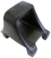 Suporte deslizante traseiro furo passante direito (013.000121B)