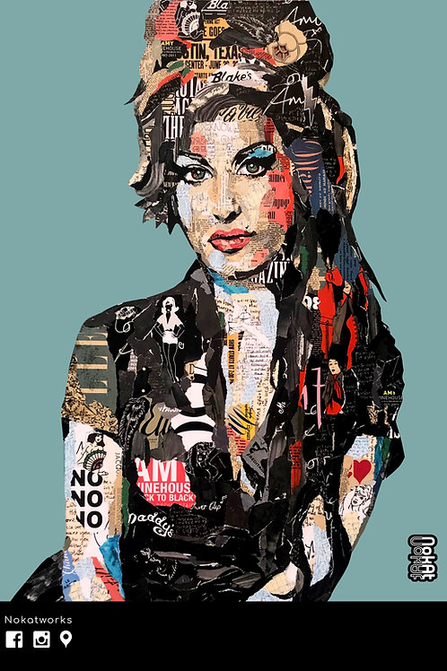 AFFICHE AMY WINEHOUSE