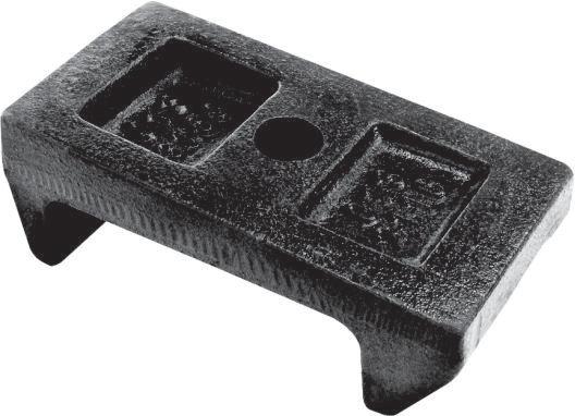 Assento do feixe da mola traseira (013.003159)